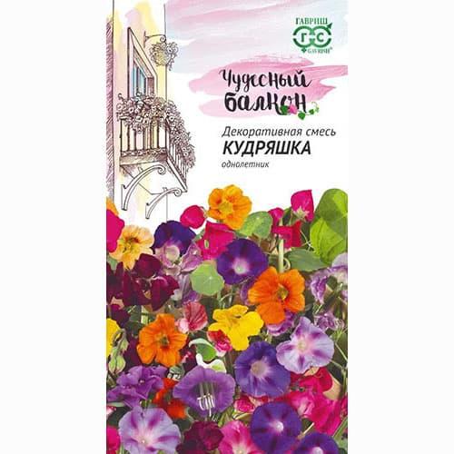 Декоративная смесь Кудряшка, смесь окрасок Гавриш изображение 1 артикул 66065