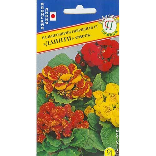 Кальцеолярия Даинти F1, смесь окрасок Престиж изображение 1 артикул 65846