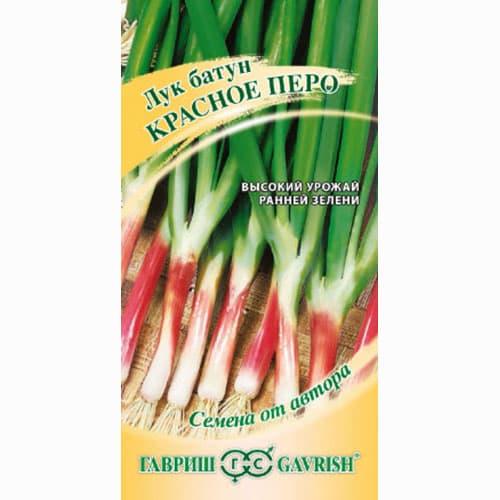 Лук на зелень Красное перо Гавриш изображение 1 артикул 65021