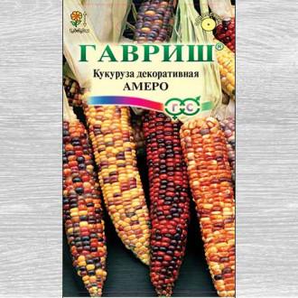 Кукуруза декоративная Амеро, смесь окрасок Гавриш изображение 8