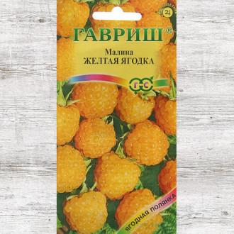 Малина Желтая ягодка Гавриш изображение 1