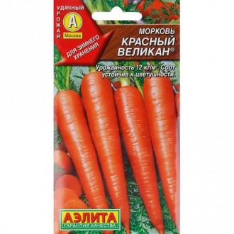 Морковь Красный великан Русский огород НК изображение 2