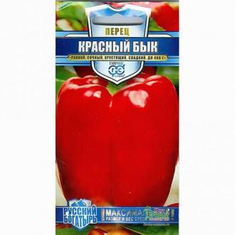 Перец сладкий Красный бык Гавриш изображение 1