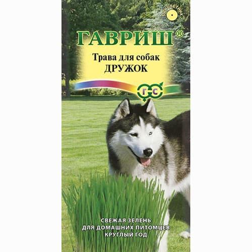 Трава для собак Дружок Гавриш изображение 1 артикул 65068