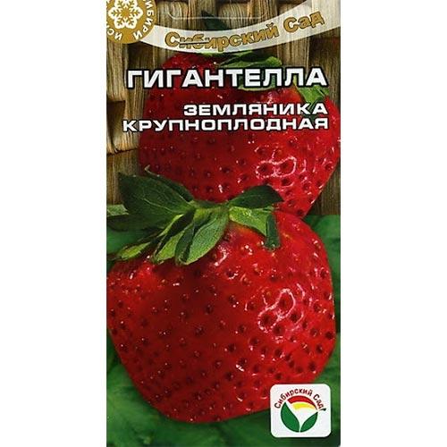 Земляника крупноплодная Гигантелла Сибирский сад изображение 1 артикул 65231
